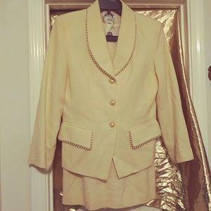 Vintage Ladies Skirt Suit